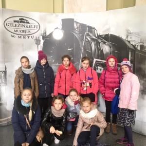 Išvyka į Vilniaus Geležinkelių muziejų