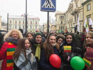 Jaunimo eisena Lietuvos valstybės keliu