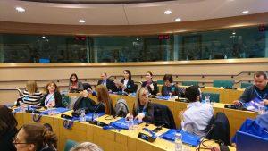 """""""Mokyklų – Europos Parlamento ambasadorių"""" Briuselyje"""