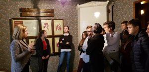 Išvyka į Aleksandro Puškino muziejų
