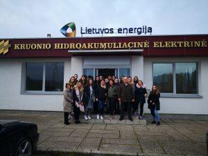 Mokomės kitaip – edukacinis turas į Kruonio HAE, KTU, Kauno HE ir LSMU