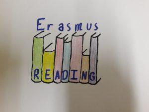 """Erasmus+ projekto ,,READING"""" logotipo kūrimas"""