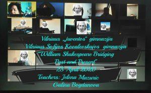 Tarpmokyklinio anglų kalbos projekto pristatymas