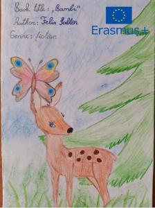 """Erasmus + programos projekto """"READING""""veikla 2020 metų žiemą ir pavasarį"""
