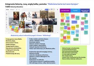 Integruota lietuvių, rusų, anglų kalbų pamoka