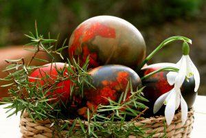 Su šventomis Velykomis, su pavasario ir atgimimo švente.